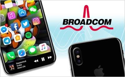 博通将为苹果8定制无线充电系统方案